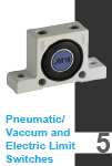 Pneumatic/Vaccum and Electric Limit Switches