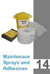 Maintenace Spays and Ashesives